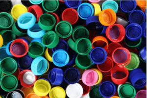 recycling plastic caps from masterbatch and problems